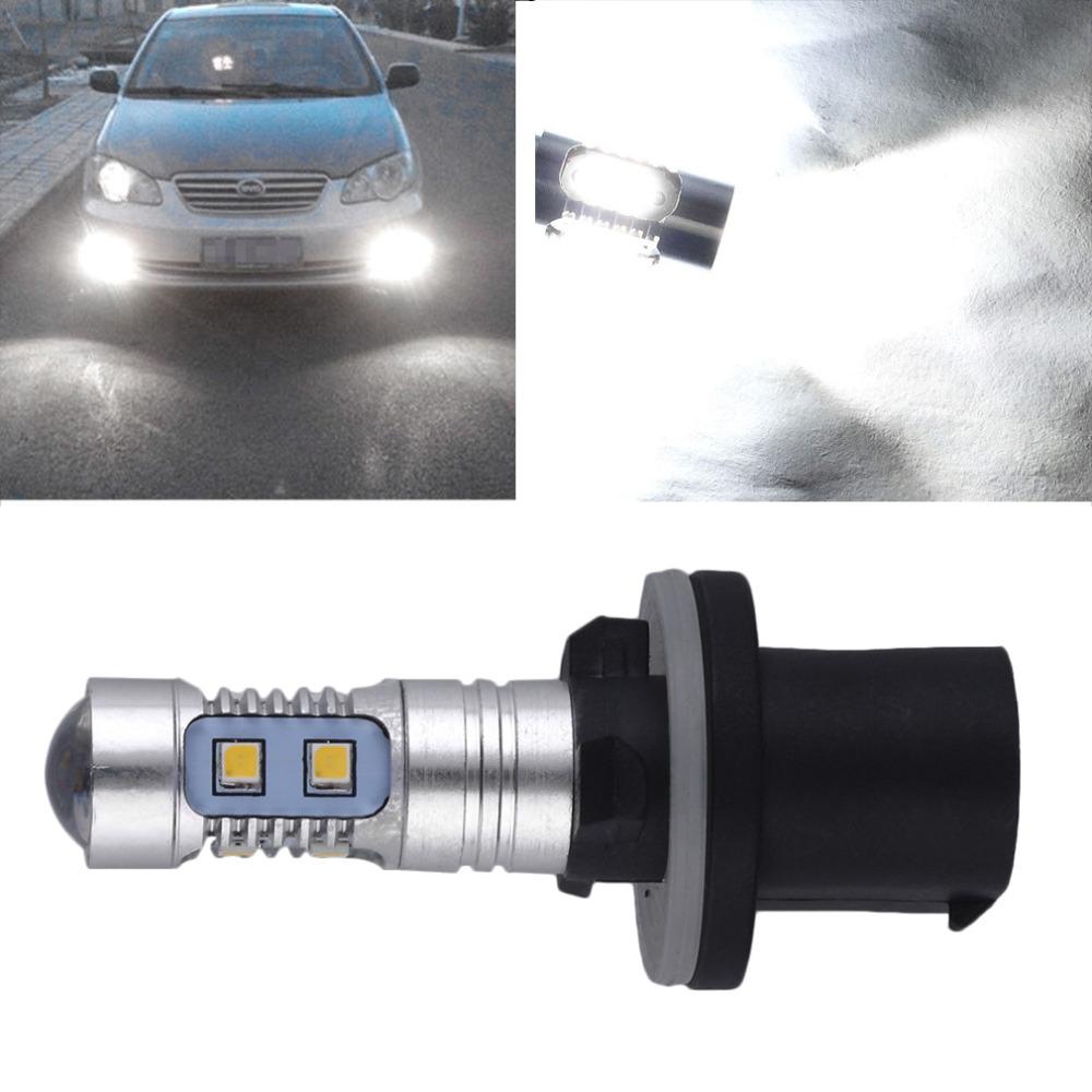 6000 К 880 Высокой Мощности 2323 СВЕТОДИОДНЫЙ Проектор Автомобилей Туман Вождение Свет Лампы 1200LM gorenje vck 2323 ap dy в украине