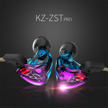 Buy KZ ZST Armature Dual Driver Earphone Detachable Cable Ear headset Audio Monitors Noise Isolating HiFi Music Sports earphone for $23.91 in AliExpress store