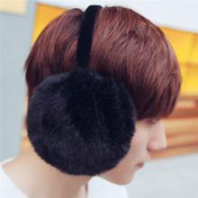 Buy Men Women EarMuffs Winter Warm EarMuffs Faux Fur White Black Fashion Soft Thick 002 for $6.03 in AliExpress store