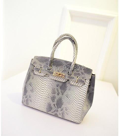New Arrival Famous Brand Design Snakeskin Pattern Platinum Fashion