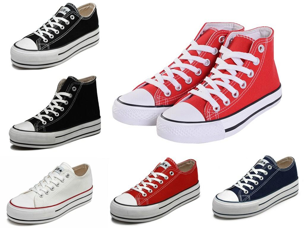 Big Size 43 Canvas Shoes Fashion High Low Women Sneakers Unisex Men Sports Shoes Women Running Shoes Flats Zapatos Mujer(China (Mainland))