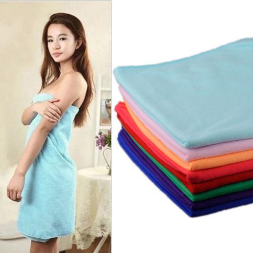 New Superfine Microfiber Bath Towels Convenient Soft Body Bath Towel Portable Bath Travel Big Towels For Adults Shower Tools(China (Mainland))