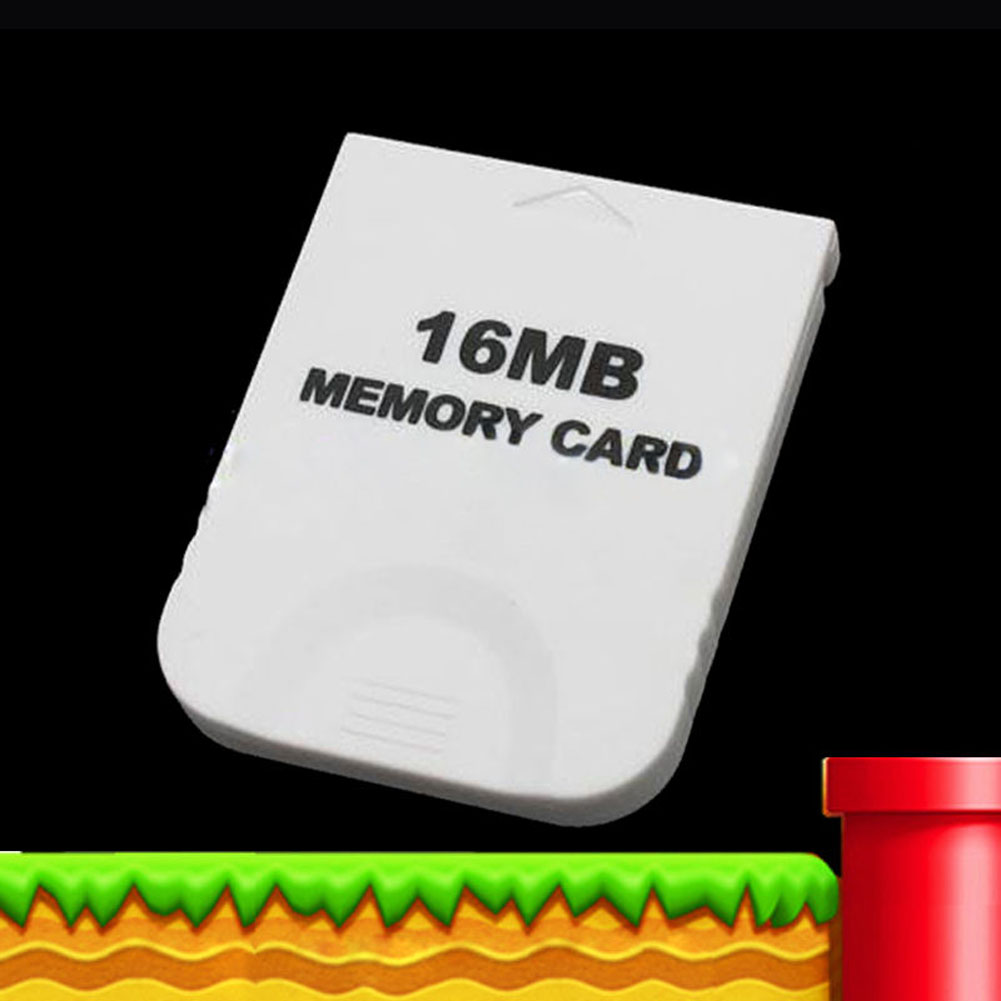 Practical White Memory Card For Nintendo Wii Gamecube GC Game 16MB 16M NIE#(China (Mainland))