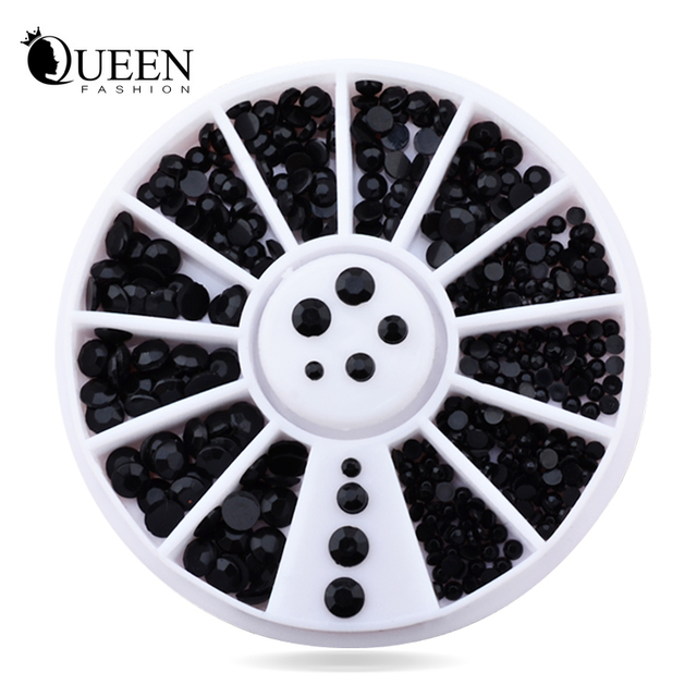 Fashion Queen Rhinestone  Decoration Wheel