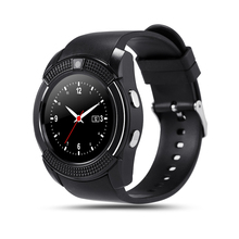 Buy Smart watch iPhone Android system support Bluetooth connection sports watch universal support SIM card call IOS V8 for $15.29 in AliExpress store