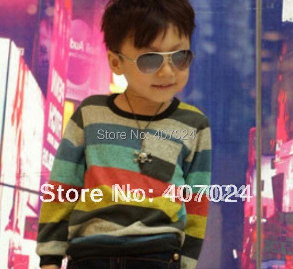 Wholesale Fashion Cotton boy's t-shirts baby t shirts Popular childrens t shirt 5pcs/lot kids wear 610141J Free Ship
