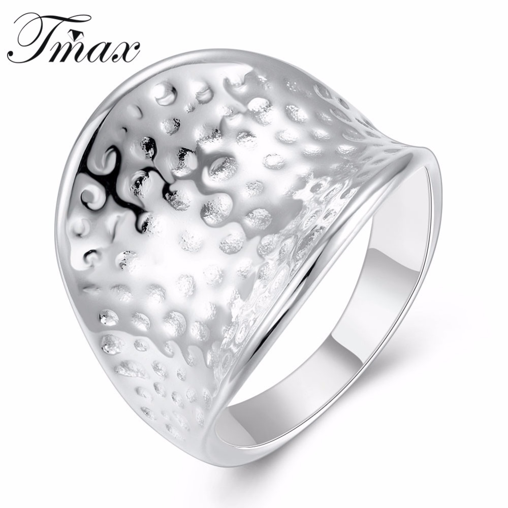 New Design Large Thumb Rings Wholesale Silver Plated Trendy Simple Wedding Engagement Jewelry Accessories for Women HFNE0883(China (Mainland))