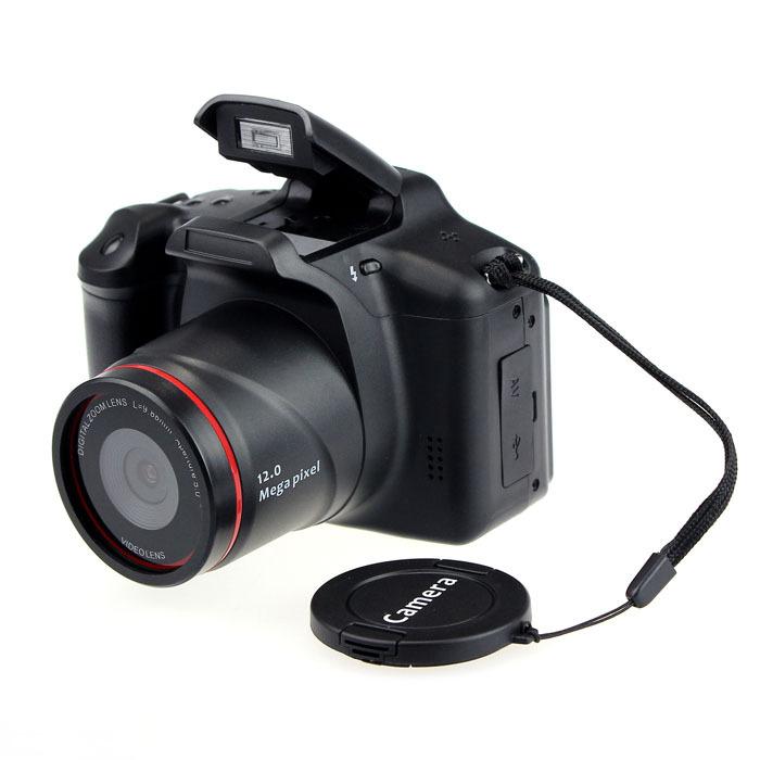 CMOS PAL.NTSC HD Windows XP/Vista/Mac JPG HD 720P 2.8 Inch LCD 12MP 32GB SD Card Camcorder DV Digital4x ZOOM digital camera(China (Mainland))