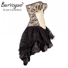 Women Steampunk Corsets Dress Vintage Bustier Top