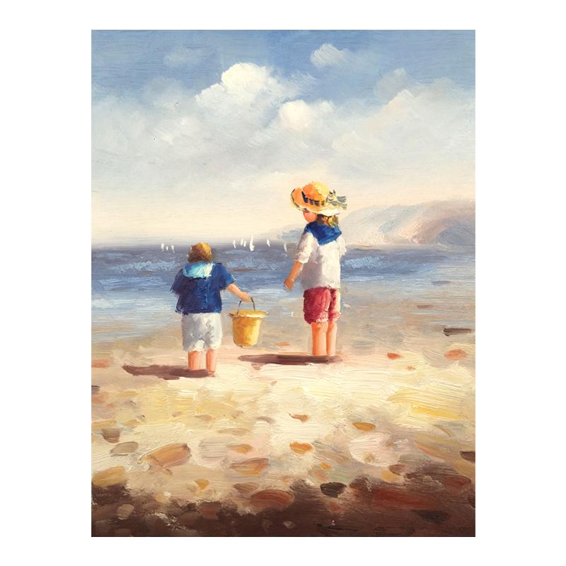 Online kopen wholesale strand schilderijen kinderen uit china strand schilderijen kinderen - Kinder schilderij ...