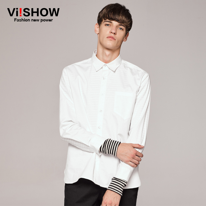 Buy viishow men shirt white 100 cotton Buy white dress shirt