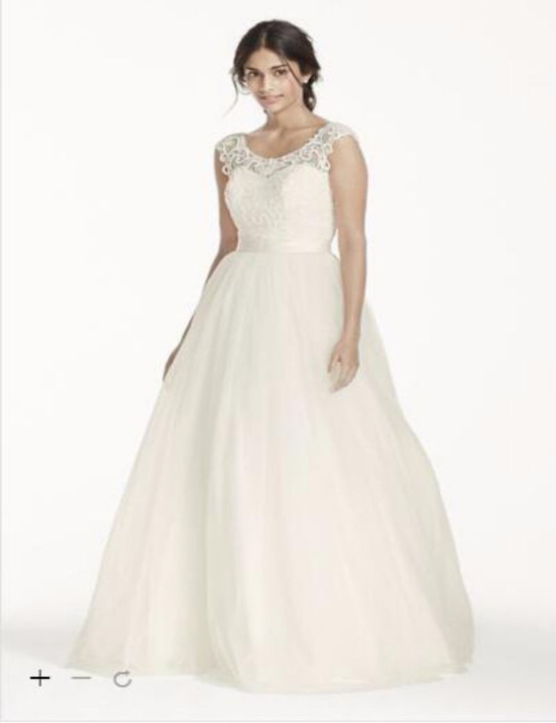Plus size wedding dresses made usa formal dresses for Plus size wedding dresses online usa
