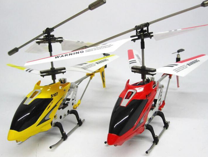 Mini Indoor ZHD S107 3.5Channel Metal RC Helicopter Gyroscope Drone Flash Shatter Resistant Syma S107g Drone Glider/Heli(China (Mainland))