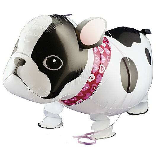1 French Bulldog walking pet balloon animals - the home of store