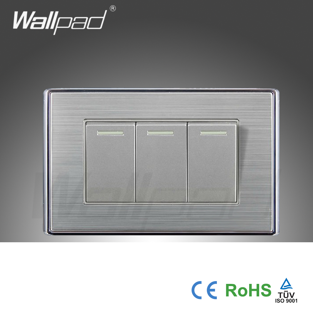 Wall Light Switches Us : 2015-Hot-Sale-China-Manufacturer-Wallpad-Luxury-Wall-light-Switch-Satin-Metal-Panel-Push-Button ...