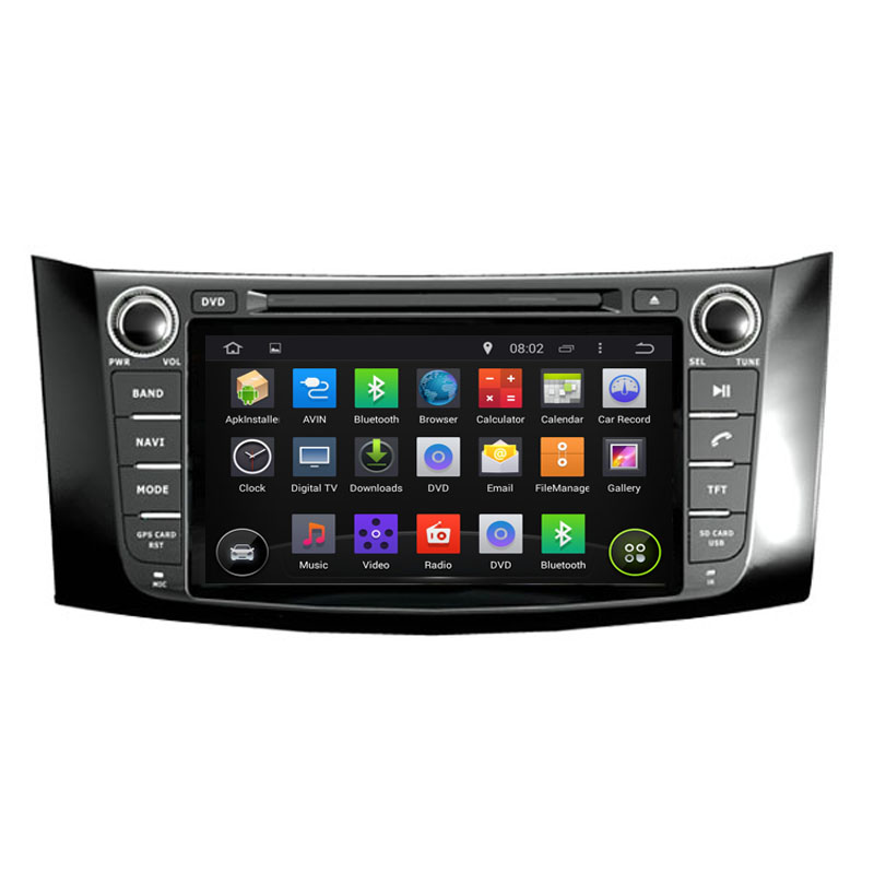 ROM 16G Fit Nissan Sentra (North America),Pulsar(Australia) 1024*600 Quad Core Android 5.1.1 Car DVD Player Navigation GPS Radio(China (Mainland))