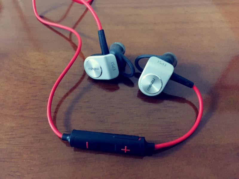 Original Meizu EP51 wireless Bluetooth earphone Stereo Headset  Waterproof APT-X Sports earphone With MIC Aluminium Alloy