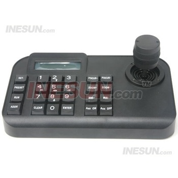 3D RS-485 PTZ control keyboard for CCTV Security Speed PTZ Camera