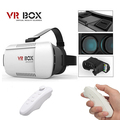 2016 Google Cardboard VR BOX Version VR Virtual Reality 3D Glasses Bluetooth Wireless Remote Control Gamepad