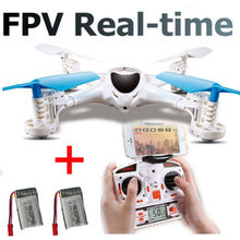 Free Shipping! MJX X300C 4CH 6-Axis Quadcoptepr FPV Real-time Video Drone Headless + 2x Battery