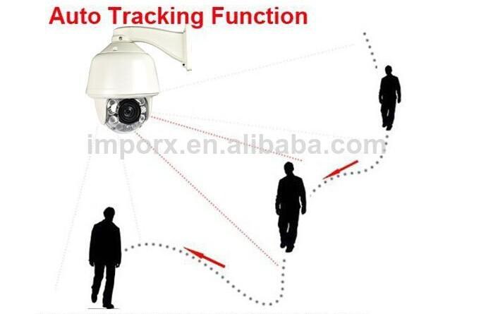 2 0 megapixels 20X Optional auto tracking ptz camera cctv security surveillance system
