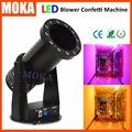 15 3W LED RGB Lighting Effects stage confetti machine Wedding Confetti Blower for halloween confetti christmas