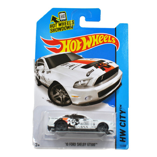 Free Shipping 1:64 Hot Wheels 10 ford shelby GT500 Alloy Collectible Model Toy Car For kids C4982(China (Mainland))