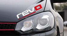 10 x Newest Design Car Styling Cover REVO Technik Sticker Volkswagen Tiguan Sagitar Golf Audi A4 A5 AA6 A7 A8 S5 S7 - Elifestyle Zone Co., Ltd. store