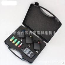 Portable Fishing Finder Alarm Receptor Set 880g Black 8 Things Remote Sensing Kit Electronic Wireless Alarm Sounder Ffw718(China (Mainland))