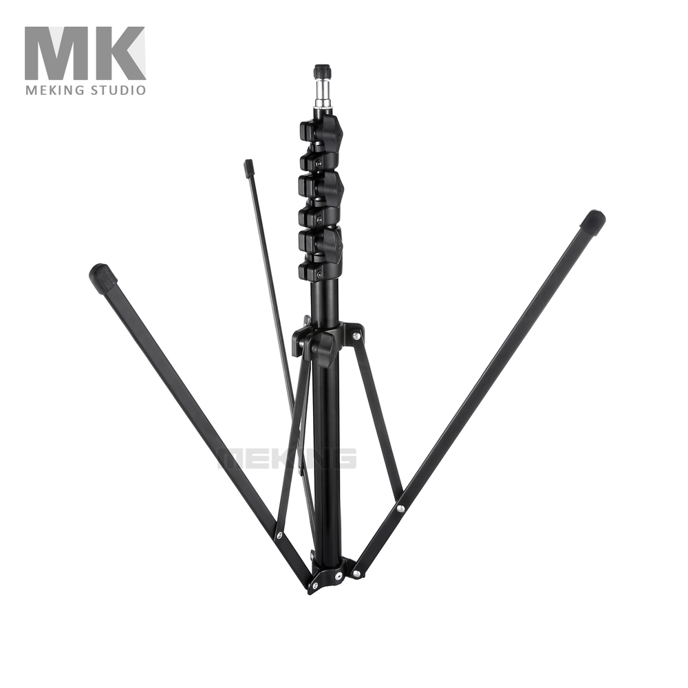 """Meking Collapsible Light Stand 200cm/6'6"""" L-1700 tripod for Photo Studio Lighting Equipment 4 Sections(China (Mainland))"""