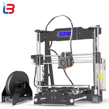Hot Sale Tronxy P802E 3D Printer DIY kits Bowden Extruder MK3 heatbed 3D Printing PLA ABS supports Auto leveling optional 8GB SD(China (Mainland))