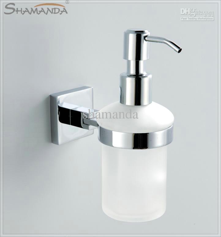 Mixer Antique Soap Dispenser Lotion Dispenser Brass Base