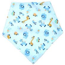 Lanmusung Bayi Oto Bandana Bayi Feeding Kain Dot Bayi Bib Hal Baju Anak-anak Kain Tahan Air Bib Syal Anak-anak Bandana(China)