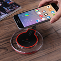 Universal Qi Wireless Charger Charging Pad For Samsung S7 S6 edge Note 5 Mobile Phone Charge