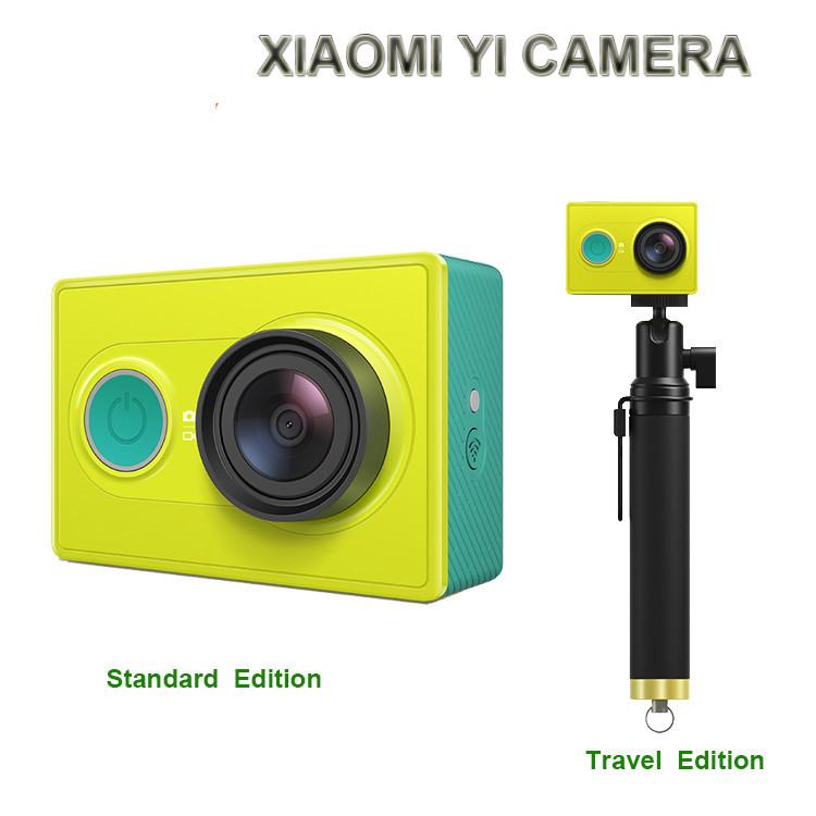 Original Xiaomi Xiaoyi Yi Action Sport travel Camera Xiaomyi Smart 16MP 4608X3456 1920x1080p 1010mAh WIFI Bluetooth 4.0 - Shenzhen Happy Design Technology Co., Ltd. store