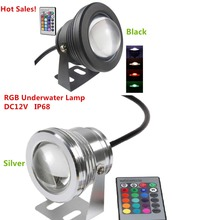 NEW Product 10W DC12V RGB LED Underwater Fountain Light Swimming Pool Pond Fish Tank Aquarium LED Light Lamp IP67 Waterproof(China (Mainland))