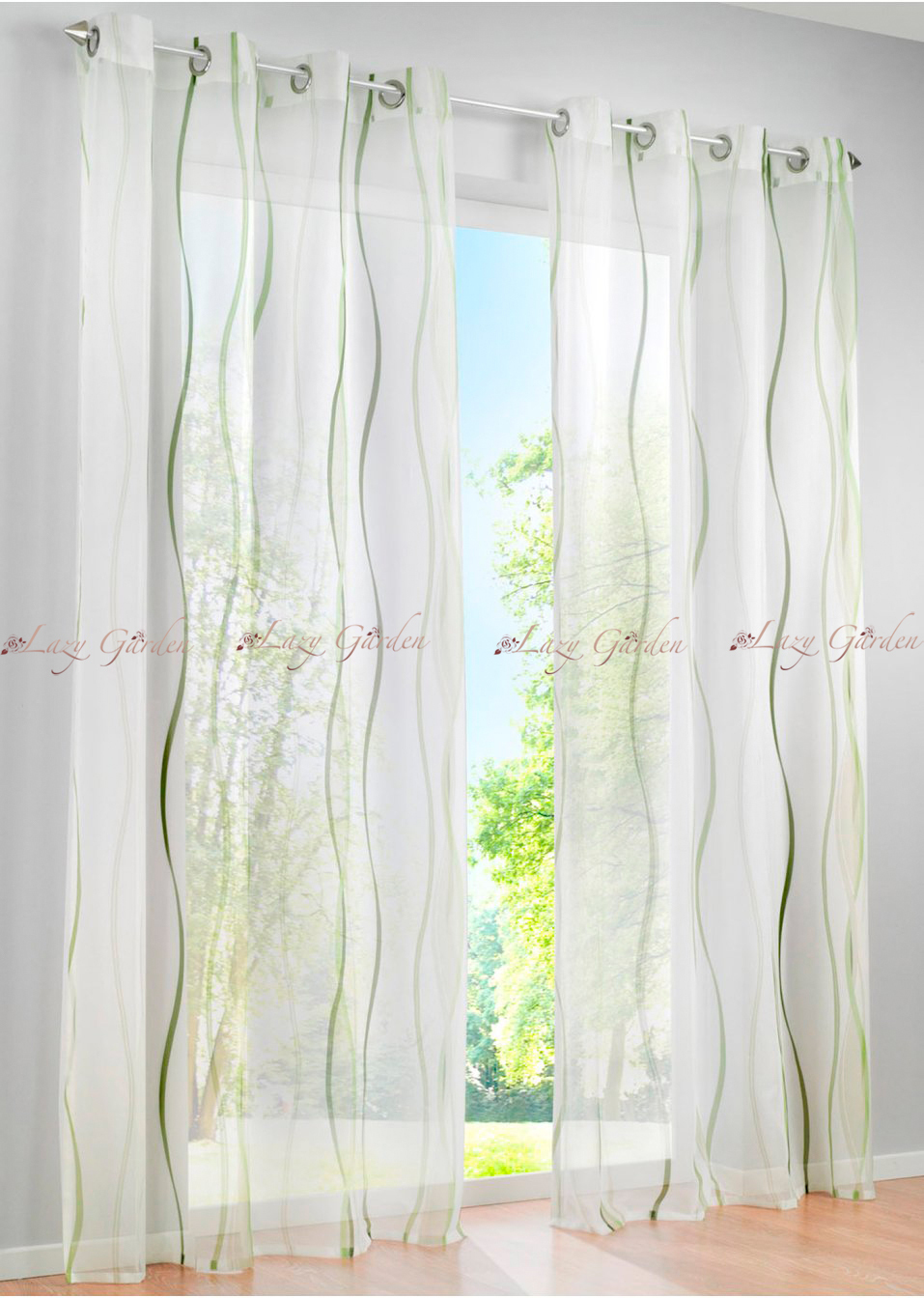 White Patterned Bedroom Curtains Gallery Lovelight