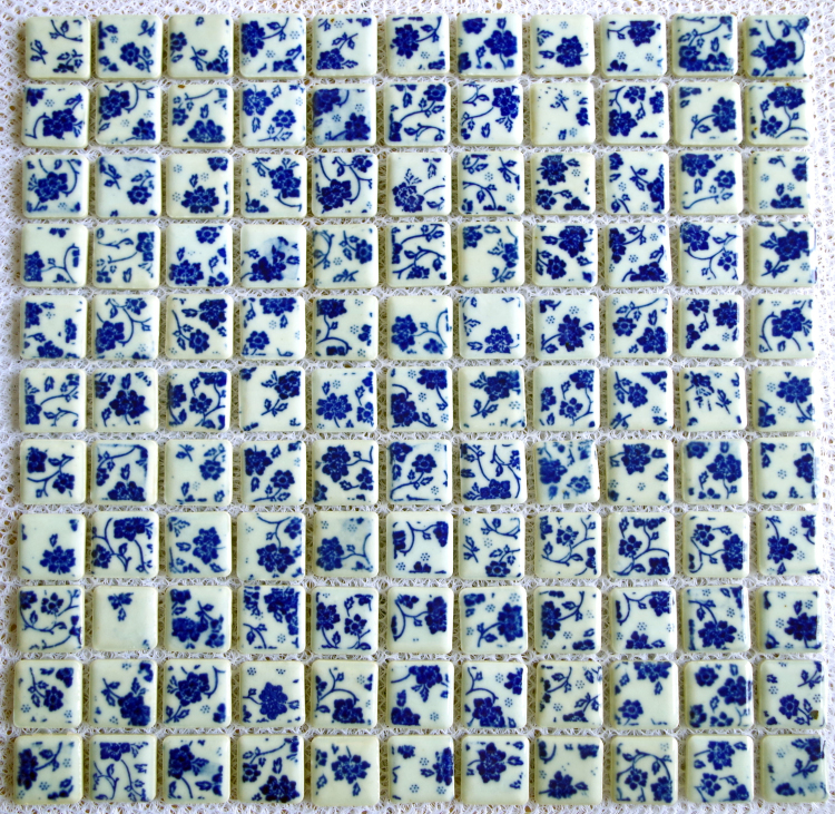 Witte Gyproc Badkamer ~   badkamer uit China blauw wit tegel badkamer Groothandel  Aliexpress