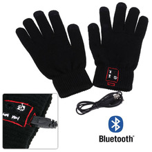 Christmas gift New Arrival Unique Design Bluetooth Gloves Screen Mobile Headset Speaker For Andriod iPhone Free Shipping(China (Mainland))