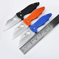 High quality 58 61HRC CPM S30V blade G10 handle 4 colors folding knife outdoor camping survival
