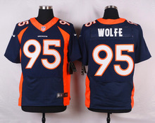 Top quality For Mens,Von Miller Demaryius Thomas Derek Wolfe Trevor Siemian Elite Rush Limited stitched Bronco(China (Mainland))