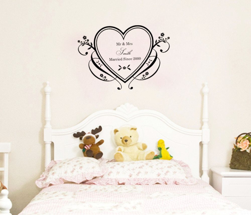Wall Decoration For Wedding Anniversary : Popular wall stickers hearts buy cheap