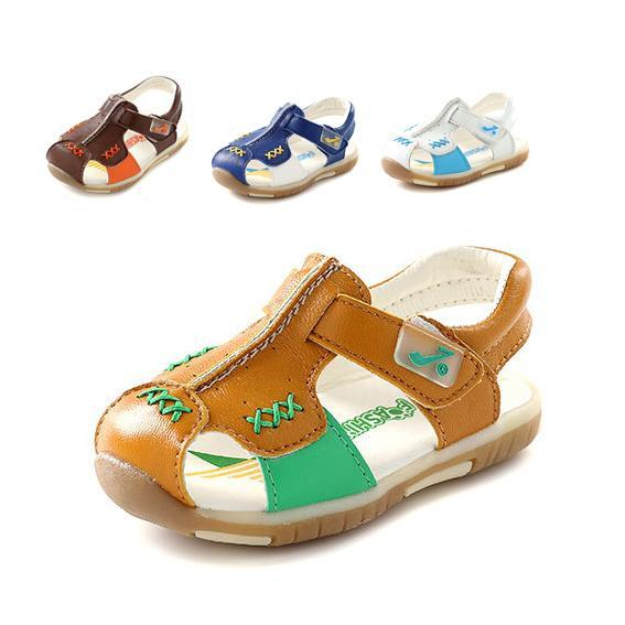 new arrival leather kids shoes boys shoes fashion baby sandals boys sandals toddler shoes baby first walkers(China (Mainland))