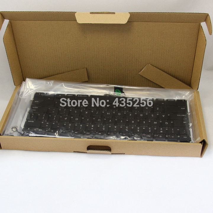 For Apple Macbook Pro A1278 Portuguese Keyboard Replacement PO Keyboard Portugal Keyboard(China (Mainland))