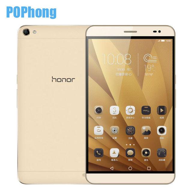 Huawei Honor X2 GEM 703L 4 Г Мобильного Телефона Кирин 930 Octa ядро 7 ''1920x1200px 3 ГБ RAM 16 Г ROM Android 5.0 13.0MP Dual SIM