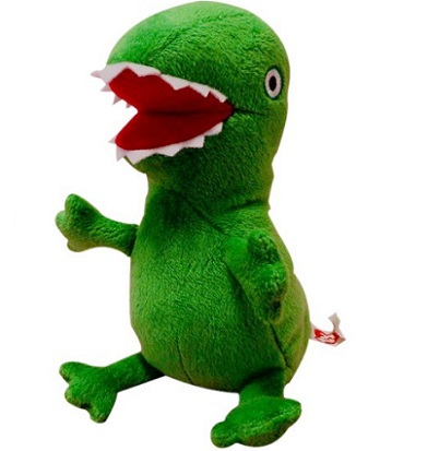 2015new Hot Sale Anime Baby Toys 23CM Pig Dinosaur Soft Stuffed Plush Toy Gif Doll For Chiildren(China (Mainland))