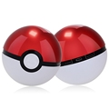 12000mAh Pokeball Go Power bank Pokeball Powerbank LED Quick Phone Charge Power Bank Cartoon 3D External