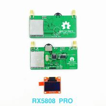 Free Shipping Figure Rx5808 5.8G 40ch OLED FPV Received Double Screen Video Glasses Modified Aerial Display