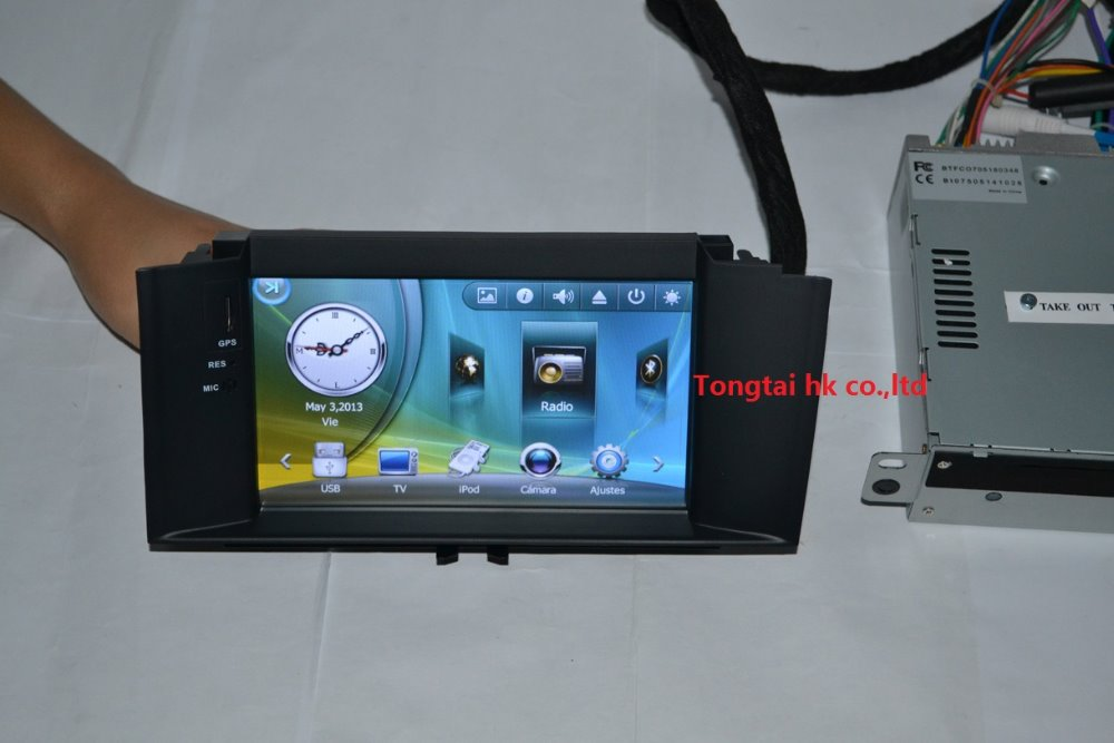 7 inch fit Citroen C4L car dvd player,GPS navigation,wince 6.0,map,Bluetooth,ipod,radio,canbus,Russian English,portuguese - TONGTAI HONGKONG INDUSTRIAL CO.,LTD(shenzhen sale office store)