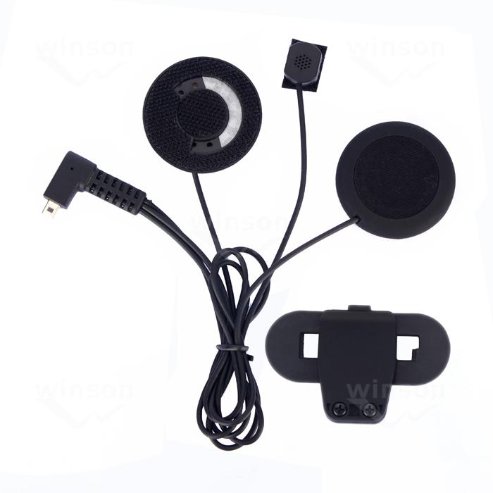 Мотоциклетный шлем интерком аксессуары, мягкие наушники и микрофон и клип костюм для T-COMVB, TCOM-SC шлем bluetooth домофон мотоциклетный шлем домофонных портативной рации коммуникации домофон наушники